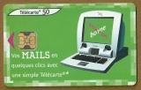 Télécarte - Phone card - F 1224 A - 06/02 - Ob 2 - 50 u - Borne internet - Mails.
