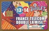 Télécarte - Phone card - F 1222 - 05/02 - Gem 2 - 50 u - 14 juillet 2.