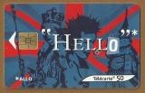 Télécarte - Phone card - F 1204 E - 02/02 - So 3 - 50 u - Parlez vous Européen 5 - Angleterre .