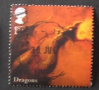 GB 2009 Mythical creatures Dragons 1st  YT 3165