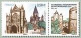 miniature France 4554 Metz ffap neufs ** TB MNH prix de la poste 0.58