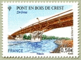 miniature France 4544 pont de crest neufs ** TB MNH prix de la poste 0.58
