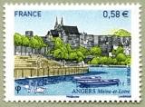 miniature France 4543 Angers neufs ** TB MNH prix de la poste 0.58