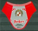 Etiquette Biere - Argentine - Cerveceria Bieckert S.A. - llavallol