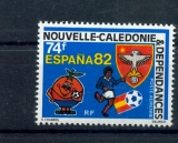 miniature Nouvelle Calédonie PA 225 1982 sports football neuf ** TB MNH faciale 0.62