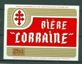 Etiquette Biere - Martinique - Brasserie Lorraine - Lamentin