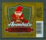 Etiquette Biere - Norvège - Arendals Bryggeri -