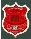 Etiquette de Bière - Norvège - A.S. P.LTZ Aass Brewery - Drammen