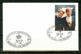 miniature Belgique - 1999 - FDC Mariage Princier - n° 2856 - Oblitéré