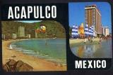 miniature MEXICO MEXIQUE : Acapulco  ( parachute )