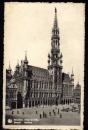 miniature Belgique - COB 422 x 3 ( Lion Héraldique ) sur carte  postale Bruxelles Hotel de Ville