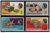 miniature Seychelles 1967 - Coquillages  (g1141)