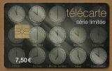 Télécarte - Phone card - Carte cabine - Cadrans horaires - Date de validité 30/06/2012.
