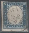 miniature Sardaigne 1855-63 - Effigie 20 c.