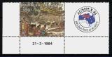 Polynésie - Ausipex 84 ** coin daté - année 1984