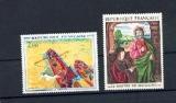 miniature France 1732 1733 1/4 de cote  1972 Derain maître de Moulin  neuf ** Tb MNH cote 4 euros