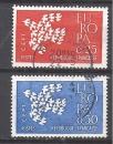 miniature FRANCE N° 1309 1310 ° EUROPA 1961