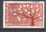 miniature FRANCE N° 1359 ° EUROPA 1962