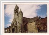 miniature cpm 22 Lanloup , l'église , non voyagée