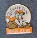 PIN'S DISNEY CLUB : SUPER BALOO