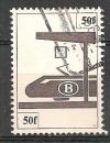 Belgique  Colis postaux   Année 1982   N° 457    train chemin de fer. Oblitéré