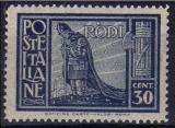 miniature Italie - Egée 1932 - Pictorique 30 c.**   (g3001)