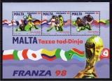 miniature Malte 1998 - Football bf   (g2654)
