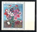 miniature  Monaco - Y&T 743 ** Floralies internationales à Monaco anémones - année 1968