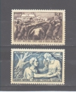 miniature France N° 497 / 498 **, superbe, cote 14,50 €