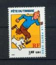 miniature France 3303 a 2000 TINTIN de carnet FETE DU TIMBRE neufs **TB MNH sin charnela prix de la poste 0.46