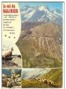 miniature 05  Le Col du Galibier , multivues ,   voyagée 1974