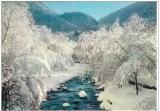 miniature 05 La Grave , neige et torrent ,  voyagée 1982