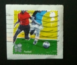 GB 2010 Olympics football (self-adhesive)  YT 3388