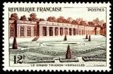 miniature France 1059 grand Trianon 22% neuf ** TB mnh sin charnela cote 1.9
