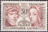 miniature France 1060 France Amérique latine 22/% neuf ** TB mnh sin charnela cote 2.5