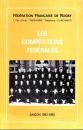 miniature Rugby - Les compétitions fédérales saison 1992-1993 de la Fédération Française de Rugby
