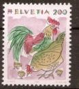 miniature Suisse 1994 YT 1460 Neuf** Coq