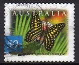 Australie - 2003 - n°2132a (YT) Faune australienne : papillon   (O)