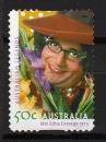 Australie - 2006 -  n° 2402 (YT) Personnalité : Barry Humphries , acteur    (O)