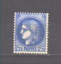 miniature France N° 374 *, trace ch, TB, cote 10,00 €