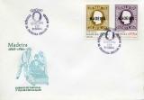 miniature Madère 1980 Évocation de la première émission timbres de Madère (EPJ/FDC) - Y&T 67/68