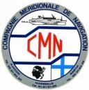 France 13 Marseille 1990 - Autocollant CMN Compagnie Méridionale de Navigation