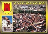 miniature France 63 Courpière - Cpm multivues avec blason