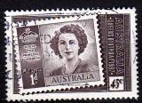 Australie  - 1997 -  n° 1581 (YT) Anniversaire de la Reine Elizabeth II     (O)