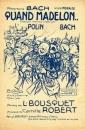 Partition musicale Quand Madelon... - Paroles de L. Bousquet et musique de C. Robert