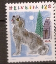 miniature Suisse 1993 YT 1420 ** Animaux - Chien