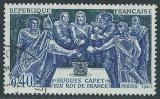 FRANCE 1967 YT 1537 oblitéré - Hugues Capet