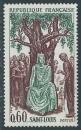 FRANCE 1967 YT 1539 oblitéré - Saint-louis (Louis IX)