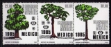 miniature Mexique 1985 - Arbres   (g1224)