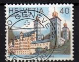 Suisse - 1978 -  n°1058 (YT) Europa : monument historique    (O)